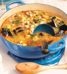 A Provençal classic, this hearty seafood soup is simple to prepare yet full of flavour.