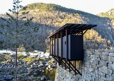 Work has been completed on a unique project for Norway's National Tourist Route (NTR), with a cluster of prefabricated structures by Swiss architect Peter Zumthor creating a selection of viewpoints . Ancient Greek Architecture, Chinese Architecture, Architecture Office, Futuristic Architecture, Contemporary Architecture, Architecture Design, Architecture Models, Industrial Architecture, Sustainable Architecture