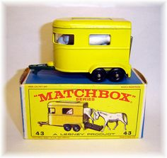 Had it. Matchbox 43c Pony Trailer (1968)