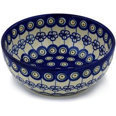 Ceramika Bona H0426H Polish Pottery Ceramic Bowl Hand Painted 7Inch * Learn more by visiting the image link.