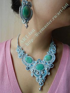 soutache and beads