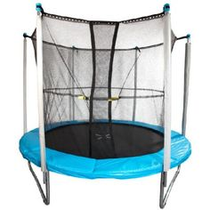 Trampoline avec filet 2.44 m - Jeux de Plein Air - Jardin / Plein Air | GiFi