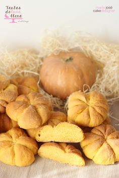 Cómo hacer pan de calabaza – Tartas de Luna LLena Mexican Sweet Breads, Pan Dulce, Allrecipes, Bread Recipes, Garlic, Bakery, Food And Drink, Favorite Recipes, Healthy Recipes