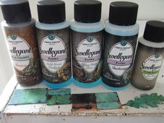 """Jenni's beads: Patina Experiments no. 2 -""""Swellegant"""" Products"""