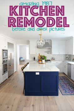 8 Grand Clever Tips: Inexpensive Kitchen Remodel Cupboards kitchen remodel ideas transitional.White Kitchen Remodel Window kitchen remodel on a budget ideas.Old Kitchen Remodel Ux Ui Designer. Farmhouse Kitchen Decor, Kitchen Redo, Home Decor Kitchen, New Kitchen, Kitchen Ideas, Kitchen White, Kitchen Updates, Modern Farmhouse, Design Kitchen