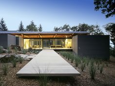 Rutherford Residence | Rutherford, California | Johnson Fain Architects