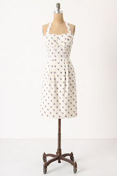 Sincerely Paris Halter Dress - I love the polka dots and the halter!