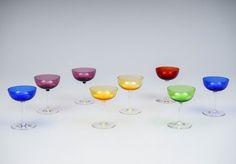Saara Hopea, liköörilaseja, NUUTAJÄRVI. Wine Glass, Scandinavian, Mid Century, Tableware, Dinnerware, Tablewares, Dishes, Place Settings, Retro