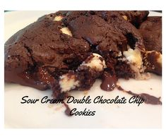 Tired of the same old cookie. Try these sour cream double chocolate chip cookies. Packed full with two kinds of chips and lots of chocolate.