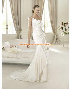 Sexy Brautkleid Einschulter im Meerjungfrauenstil online kaufen 2013
