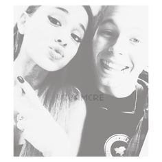 Tumblr found on Polyvore featuring manips, ari and ariana grande