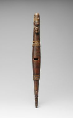 Flute (Putorino) Date: ca. 1800–1820 Geography: New Zealand, Bay of Plenty region Culture: Maori people