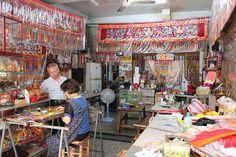 embroidery store, Tainan #Taiwan