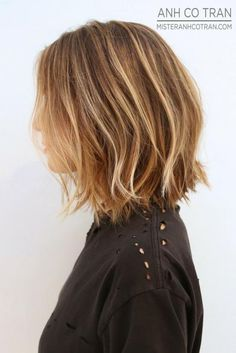 Natural Balayage on short hair Hair Color And Cut, Haircut And Color, Hair Colour, Good Hair Day, Great Hair, Dark Blonde Hair, Blonde Balyage, Warm Blonde, Short Blonde