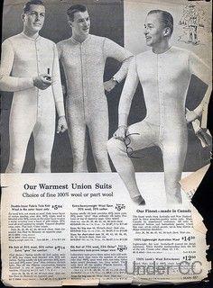men's union suit