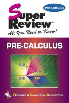 Pre-Calculus Super Review (QA331.3 .P74 2000)