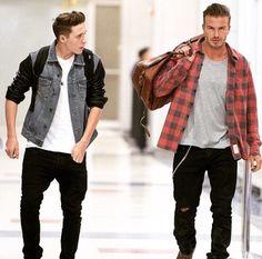 Beckham's family style SAINT LUKE