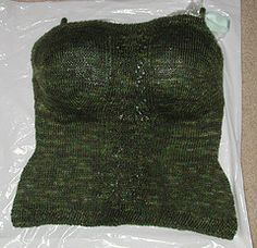 BRILLIANT! How to block a garment with bust darts - use an old bra!