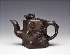 Budda-hand stump teapot Premium and Treasure by Chinateaware:
