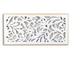 Tablie de pat White Flowers - Vivre.ro Decoration, White Flowers, Wood, Diy, Home Decor, Products, Scandinavian Chest Of Drawers, Hand Made, Decor