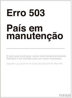 Erro 503  #vemprarua