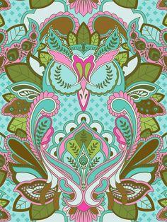 ➳➳➳☮American Hippie Art - Owl