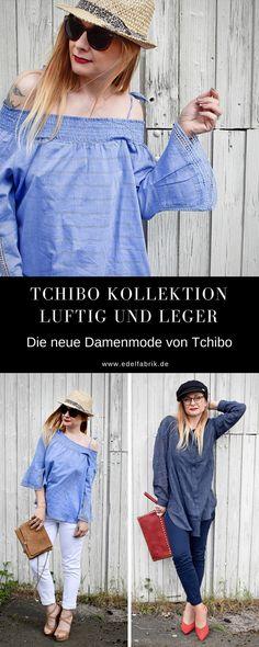 Tchibo Luftig und leger Damen Kollektion   Themenwelt mit sommerlicher Mode für Frauen (Werbung)