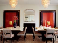 Modern dining room sets for your home design is the theme today! See, when you are about to decorate your dining room you have to think about the style which. Luxury Dining Room, Dining Room Sets, Dining Room Design, Dining Room Furniture, Teak Dining Table, Luxury Furniture, Thom Filicia, House Design, Interior Design