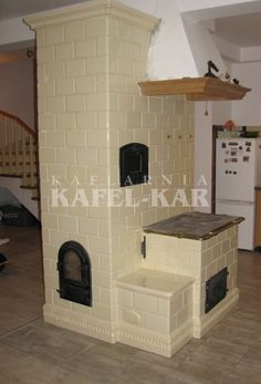 Kuchnia kaflowa Wood Stove Cooking, Rocket Stoves, Natural Building, Outdoor Cooking, Smokers, Interior Design, Architecture, Gardening, Home Decor