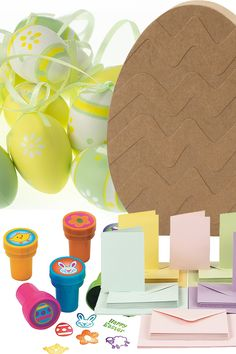 Looking ahead? Already planning your next big craft event? Take a look at our Easter category, perfect for your next spring craft project. Craft Kits, Craft Supplies, Easter Tree Decorations, Easter Crafts For Adults, Plastic Easter Eggs, Craft Stickers, Bunny Crafts, Craft Materials, Egg Hunt