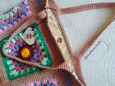 My Bags, Crochet, Coin Purse, Purses, Blanket, Wallet, Crochet Flowers, Tejidos, Tricot