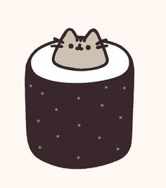 Cute little sushi Pusheen…? Also from 2018 calendar Cute little sushi Pusheen…? Also from 2018 calendar Cat Wallpaper, Cute Wallpaper Backgrounds, Wallpaper Iphone Cute, Cute Cartoon Wallpapers, Kawaii Doodles, Cute Kawaii Drawings, Pusheen Stormy, Pusheen Love, Chat Kawaii