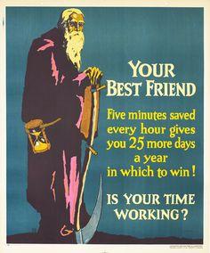 Willard Frederic Elmes Original Poster: Your Best Friend (Mather Work Incentive)