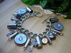 Bullet Jewelry Shotgun Shell Casings Crosses by MyTabbyBoutique, $68.00