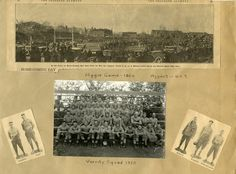 Heritage scrapbook page