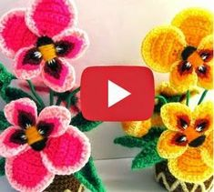 Flor Paso a paso Tutorial, Cactus, Savory Snacks, Sweet Pastries, How To Knit, Dots, Thoughts, Rose, Prickly Pear Cactus