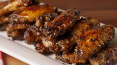Best Balsamic Glazed Wings Recipe - How to Make Balsamic Glazed Wings Balsamic Glaze, Balsamic Vinegar, Cider Vinegar, Cooking Recipes, Healthy Recipes, Corn Dogs, Chicken Wing Recipes, Football Food, Game Day Food