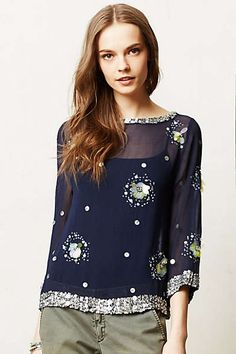 Anthropologie - Rowena Top
