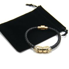 Bracelet - Bracelet Leather Skull - Untik