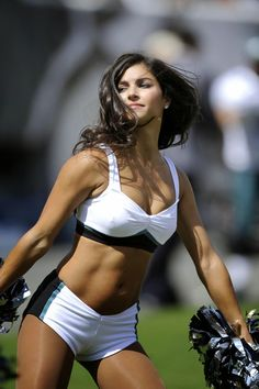 63c6156b0 A Philadelphia Eagles cheerleader performs in the first half of an NFL  football game against the Baltimore Ravens