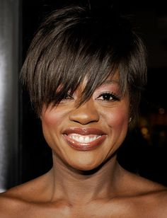 Obviously Viola Davis is an excellent actress but who new she had such a fresh edge. The messy pixie cut and that makeup are unbelievably flattering.