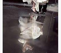 Wedding shoes in Reflections