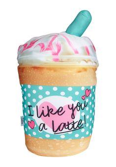 I Like You A Latte Pillow