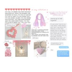 Be My Valentine by glowblocks on Polyvore featuring WALL