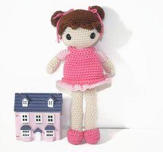 Wenig Cutie Crochet Amigurumi Puppe Stofftier Sammlerstück dekorativen Charakter süße Plüsch