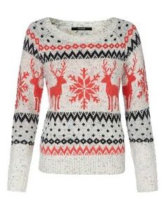Fairisle Stag Jumper main view