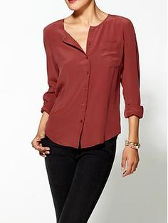 Tinley Road Silk Sophia Blouse | Piperlime $55