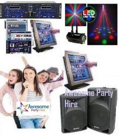 Jukebox & Karaoke - PA Hire In Melbourne (Overnight Hire $200) #KaraokeHireMelbourne#JukeboxHireMelbourne