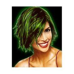 Glow in the dark party... glow hair gel