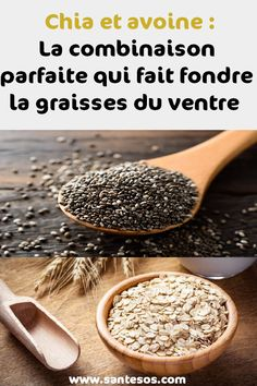 Chia and hafer: The perfect combination that melts your belly fat Nutrition Month, Proper Nutrition, Nutrition Plans, Nutrition Tips, Toddler Nutrition, Nutrition Drinks, Fitness Workouts, Detox To Lose Weight, Melt Belly Fat